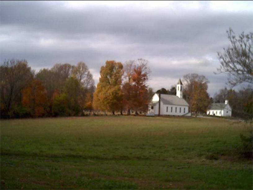 Church in the Fall